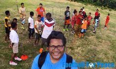 Uni Papua Fc Yakonde doing football practice with coach Glailton Pantoja From Brazil http://unipapua.net/berita/uni-papua-fc-yakonde-with-coach-glailton-pantoja/ #FIFA