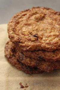 Cookie of the Month – Brown-Butter Oatmeal Cookies