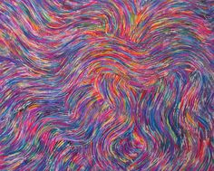 "'Upper level disturbance' by Susan Rodebush  | $250 | 20""w x 16""h 