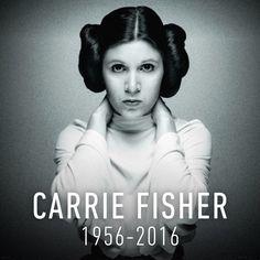 je suis tellement triste.jai peur pour han solo maintenant #Fan Star Wars #Carrie Fisher