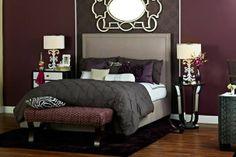 Grey And Plum Bedroom Ideas Love This Purple Gray Zebra Bedroom That