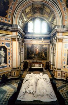 Tombs of Queen Victoria and Prince Albert