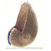 Crochet seashell basket - would be good for newborn photos!