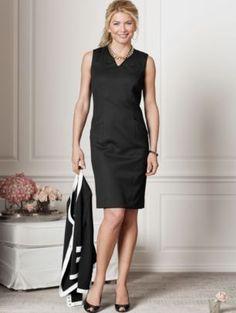 SEASONLESS WOOL AVA DRESS  Perfect Pendleton LBD