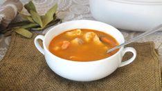 Sopa de Pescado y Marisco, una receta nutritiva y tradicional Puerto Ricans, Fondue, Risotto, Pudding, Cheese, Cooking, Ethnic Recipes, Desserts, Moda Emo