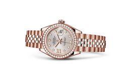 Rolex Lady-Datejust 28 Watch: 18 ct Everose gold - 279135RBR
