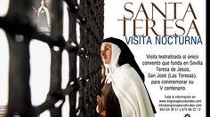 'Las Moradas de Santa Teresa': visita nocturna teatralizada en Sevilla