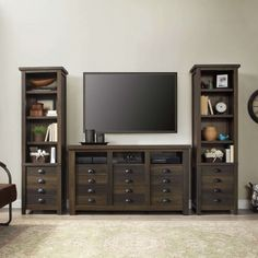 Better Homes And Gardens Granary Modern Farmhouse Printers TV Cabinet Multiple Finishes Image 6 Of