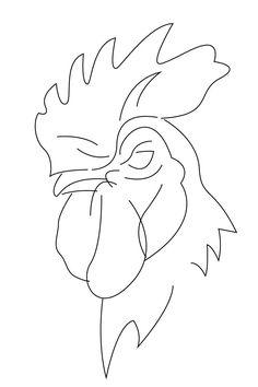 Rooster Logo by Matthew McElroy - Skillshare