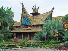 The Enchanted Tiki Room @ Tokyo Disneyland