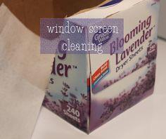 window screen cleaning machine