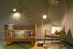 Baby room. Love the crib!