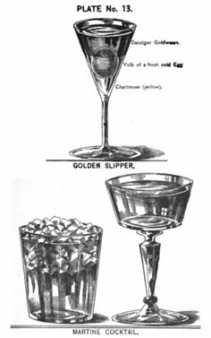 Martini Cocktail Drink Recipe: with the ingredients gum syrup, Boker's bitters, Curaçao, Old Tom Gin, vermouth Martini Recipes, Cocktail Recipes, Cocktail Illustration, Cocktails, Oranges And Lemons, Vintage Bar, Cocktail Glass, Drinking Glass, Food Trends
