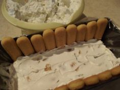 Dessert Bars, Camembert Cheese, Cake Recipes, Deserts, Dairy, Food And Drink, Baking, Food Cakes, Charlotte