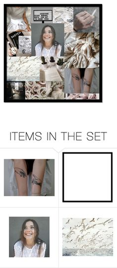 """""""Blank"""" by briannalee7 ❤ liked on Polyvore featuring art"""