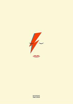 Área Visual - Blog de Arte y Diseño: Gorgi Janevski. David Bowie 1947-2016