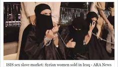 Esclavas sexuales-Estambul, Turquía – El Ministerio de Derechos Humanos iraquí dijo en un comunicado el jueves que el grupo Estado Islámico (EI/ISIS) introdujo más de 100 mujeres sirias a la venta en el mercado de la ciudad de Faluya, en la provincia de Anbar.