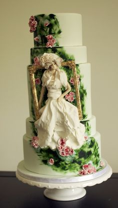 Tim Walker inspired competition cake by Sophie Bifield Cake Company. (All-edible)