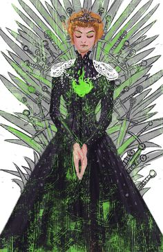 Queen Cersi Lannister - Game of Thrones