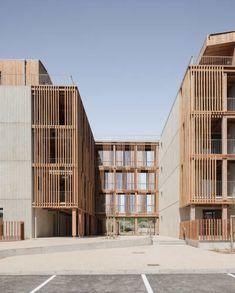 Social Housing Architecture, Museum Architecture, Wood Architecture, Concept Architecture, Contemporary Architecture, Ancient Architecture, Sustainable Architecture, Building Facade, Building Design