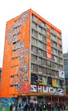 The Tour 13 building in Paris, a venue for artistic expression of street art (Photo © Meredith Mullins)