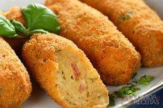 Receita de Croquete de carne seca em receitas de salgados, veja essa e outras receitas aqui!