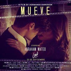 "Abraham Mateo – Web Oficial » Abraham Mateo estrena hoy la película ""Mueve"" en…"