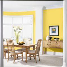Salle à manger, yellow!