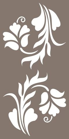 Decorative Panels Pattern Vector Free Vector We genuinely believe that tattooing could be a method that has been used since … Damask Stencil, Stencil Painting, Fabric Painting, Fabric Paint Designs, Stencil Designs, Flower Pattern Design, Flower Patterns, Stencil Templates, Printable Stencil Patterns