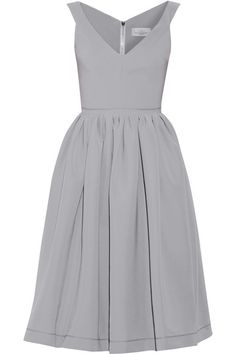 I love this! Would be good if it were in a toned down floral print. Preen by Thornton Bregazzi, Flo satin-crepe dress