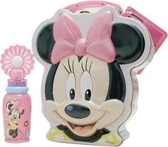 Minnie Mouse By Disney For Women. Set-edt Spray 1.7 Ounces & Metalic Lunch Box by Disney. $22.99. Packaging for this product may vary from that shown in the image above. This item is not for sale in Catalina Island. Launched by the design house of Disney in 2000, MINNIE MOUSE is a Women's fragrance that possesses a blend of citrus, lemon, florals and sweet spices.  It is recommended for daytime wear.