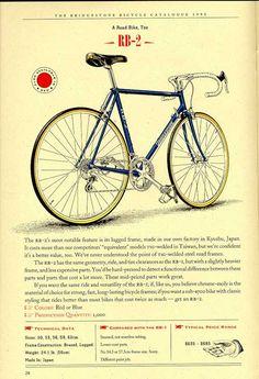 Bridgestone Bicycles 1993 Catalogue page 28
