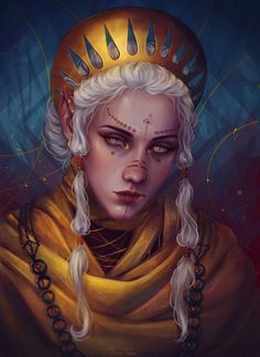 gold by AnnaHelme on DeviantArt - Character Design Club 2019 Female Character Design, Character Creation, Character Design References, Character Design Inspiration, Character Art, Medieval Fantasy, Fantasy Rpg, Dark Fantasy, Dnd Characters