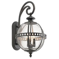 Kichler Halleron Collection 2 Light 23  Outdoor Wall Light - Londonder