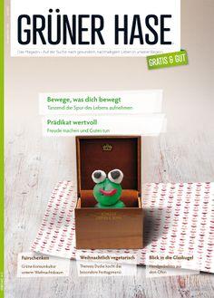 Editorial Design – GRÜNER HASE, Fulda