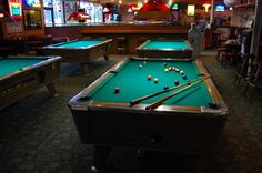 I could go for some drinks and pool right now, I think that's how I'll spend my weekend. I need to find some new bars in my town. I think we'll have a girls night out and go to a few new bars.