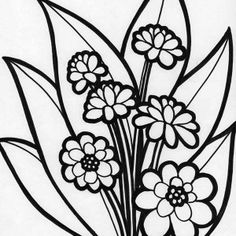 flowers picture of beautiful blooming flower coloring page picture of beautiful blooming flower coloring