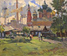 Художник Александр Михайлович Семёнов (1922 - 1984).
