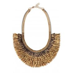 Stella & Dot Pegasus Necklace: will complement a solid colored cocktail dress and wake up a white t-shirt.
