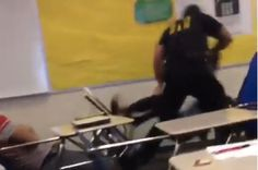 Multiple videos show school Police Officer Ben Fields brutally attacking a peaceful Black female high school student. Click here to demand Officer Fields be fired & prosecuted immediately, & that all charges are dropped against students he already victimized.