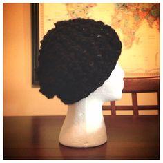 Black Beanie on Etsy, $15.00
