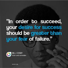 Bill Cosby on strategy
