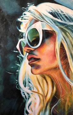 Thomas Saliot - White Sunglasses