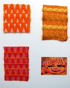 Dobby Weaving by Eric Whiting, via Behance