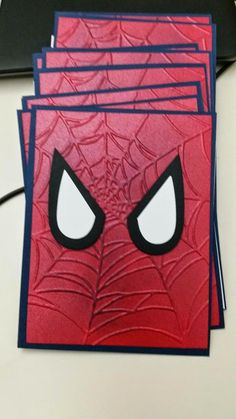 Sharon it with you: Spider-Man invites and Thank You cards: