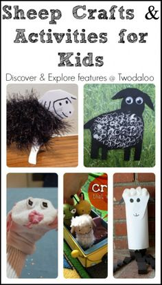 A roundup of sheep-themed crafts and activities for young kids.