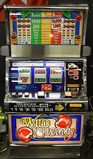 """IGT S2000 COINLESS SLOT MACHINE """"WILD CHERRY"""" GREAT SHAPE"""