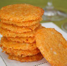 Debbie's Low Carb Recipes: Cheese Crisps