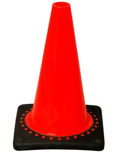 JBC 12 inch cones, commonly called soccer cones or running cones, are great for sports applications.