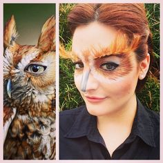 #Halloween #SephoraSelfie look: Owl by tonistirling. Tag your pics with #SephoraSelfie for a chance to be featured!